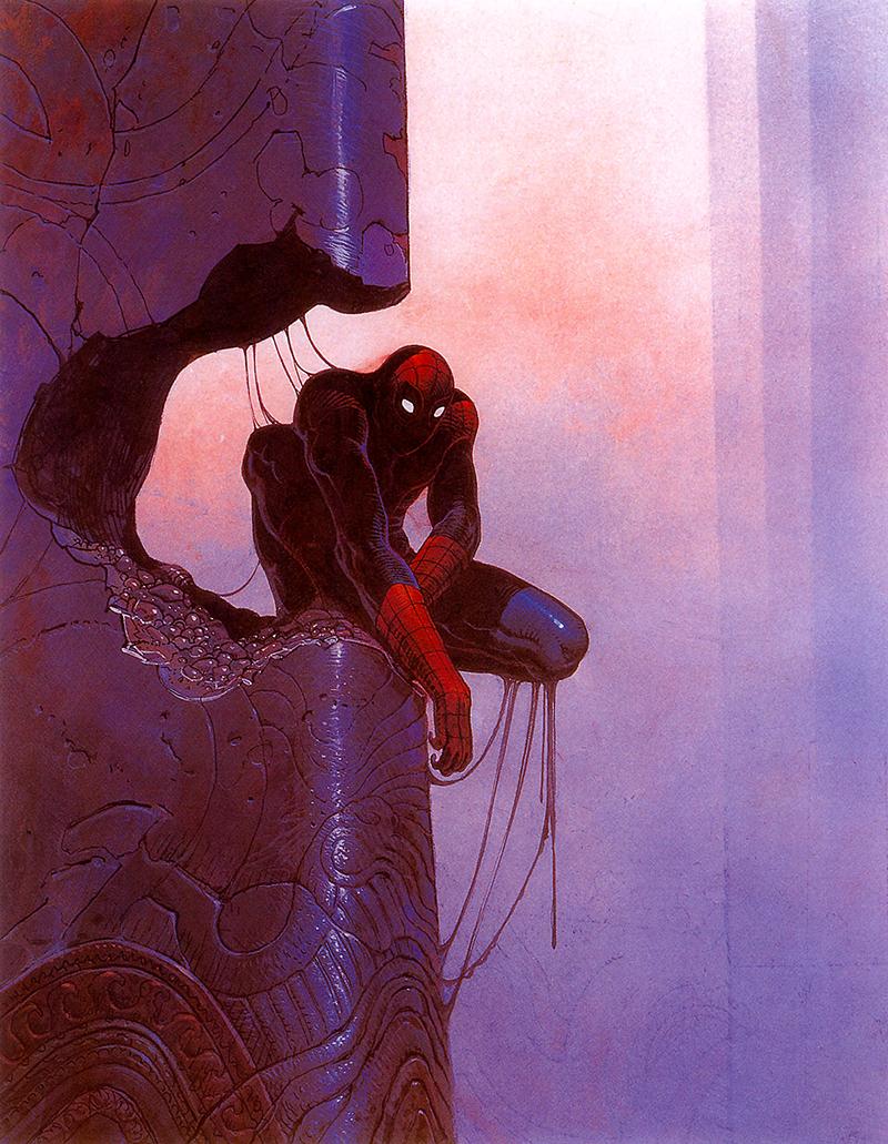 Moebius és a Marvel: Pókember