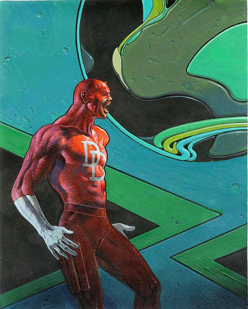 Moebius és a Marvel: Daredevil