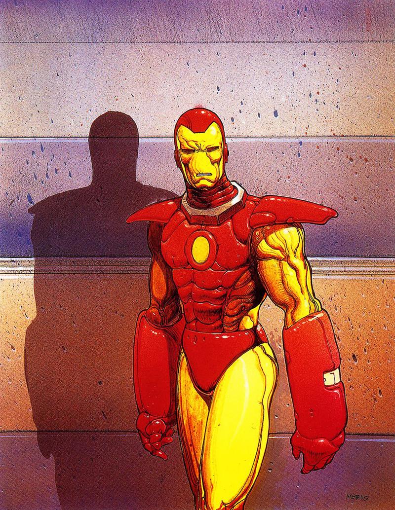 Moebius és a Marvel: Vasember