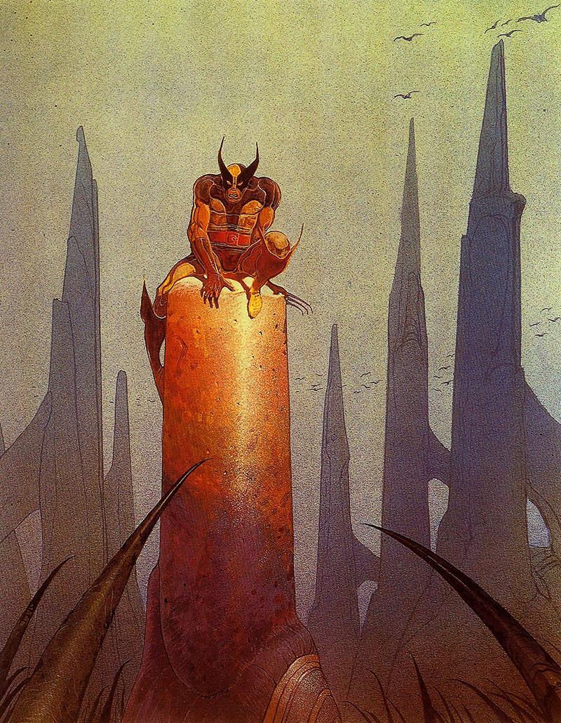 Moebius és a Marvel: Rozsomák
