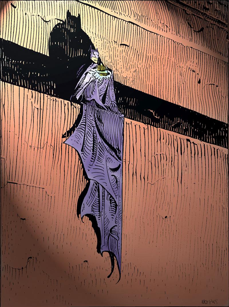 Moebius és a DC: Batman
