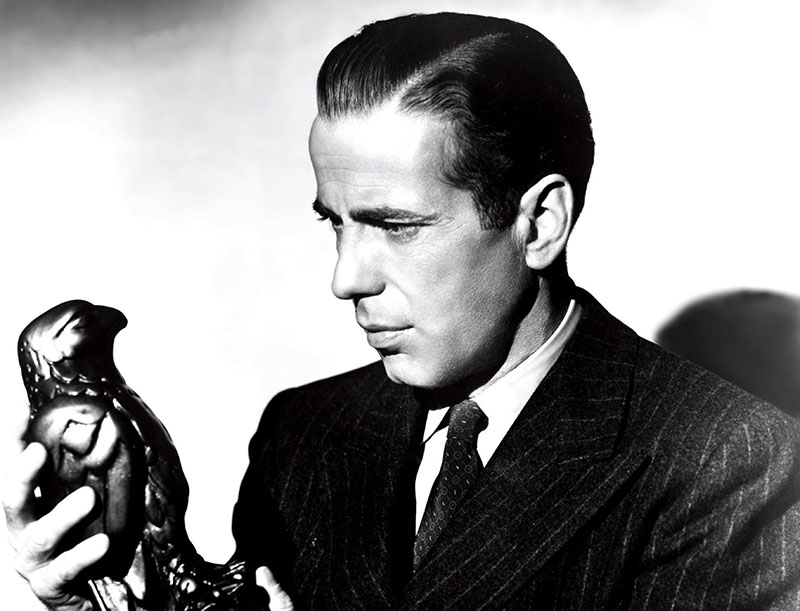 Humphrey Bogart másik legendás szerepe A máltai sólyomban, Sam Spade-ként