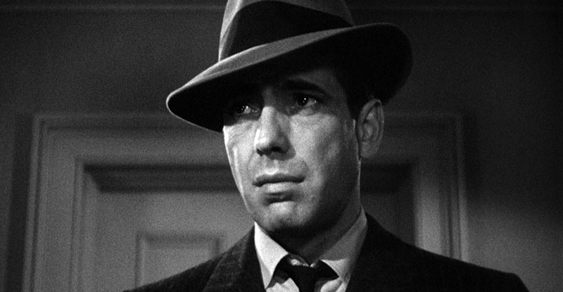 Humphrey Bogart egyik leghíresebb szerepe Philip Marlowe-ként a Hosszú álomban