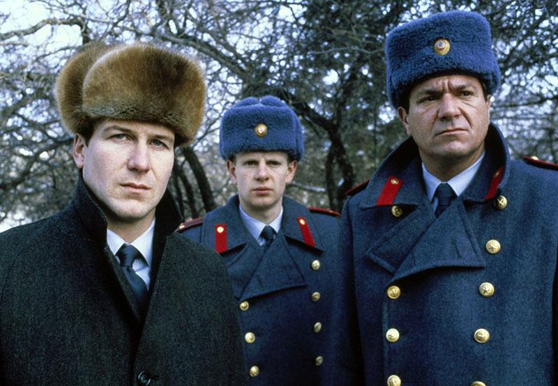 William Hurt (balra), mint Arkady Renko a Gorkij Park című filmben
