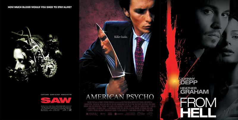 Fűrész; Amerikai psycho, A pokolból