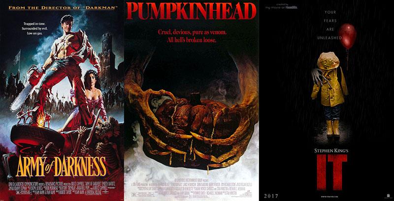 A sötétség serege; Pumpkinhead; Stephen King: Az