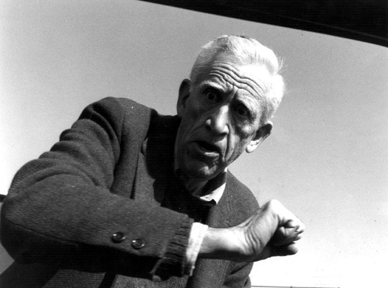 Az utolsó ismert paparazzi fotó Salingerről, a kilencvenes évek közepéről