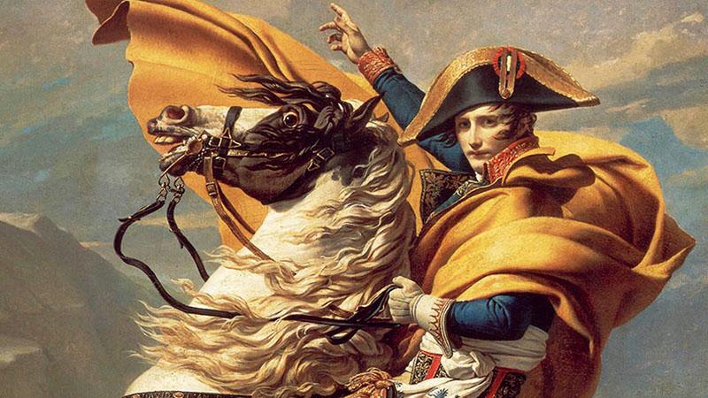 Nepóleon 1805-ben mondta tollba beszámolóját tábornokának