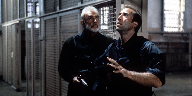 Sean Conneryvel A sziklában