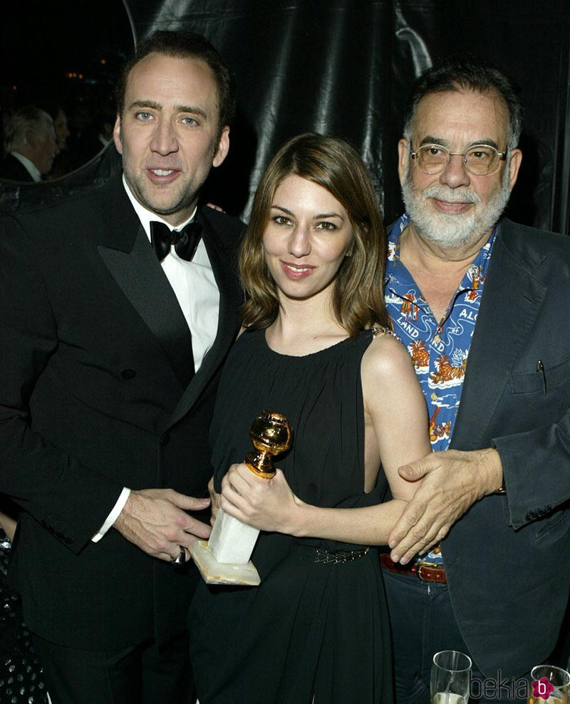 A nagybácsival, Francis Ford Coppolával, és az unokahúggal, Sofia Coppolával