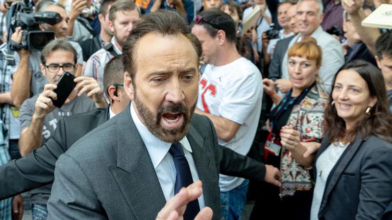 Nicolas Cage 2018-ban Spanyolországban