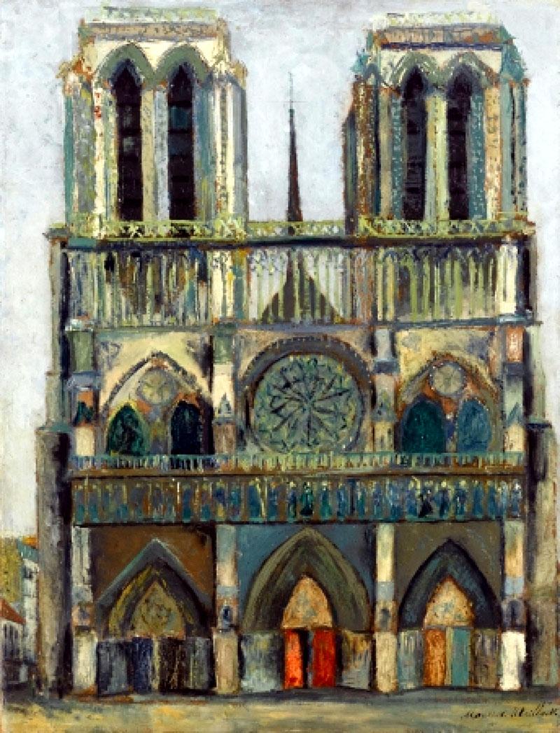 Utrillo: Notre-Dame