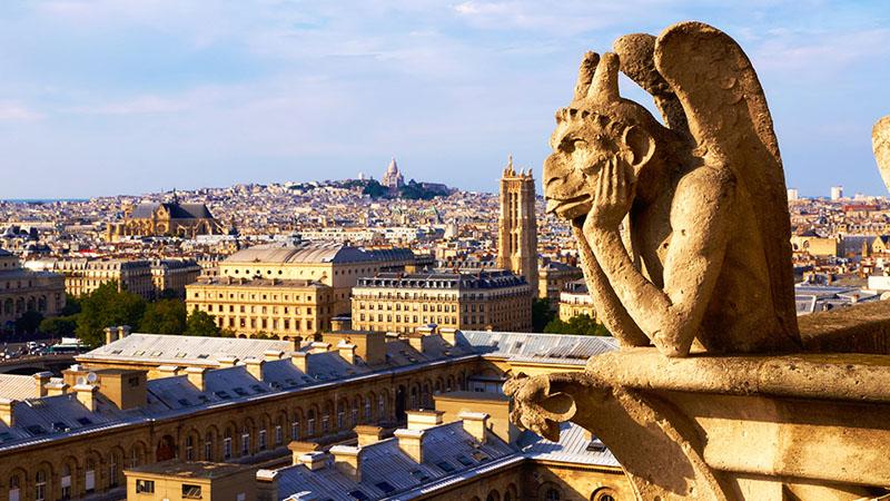 Notre-Dame. Styrga