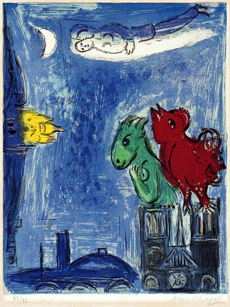 Chagall: A Notre-Dame szörnyetege