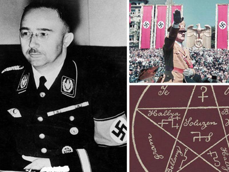 Himmler, aki maga is több okkult társaság tagja volt