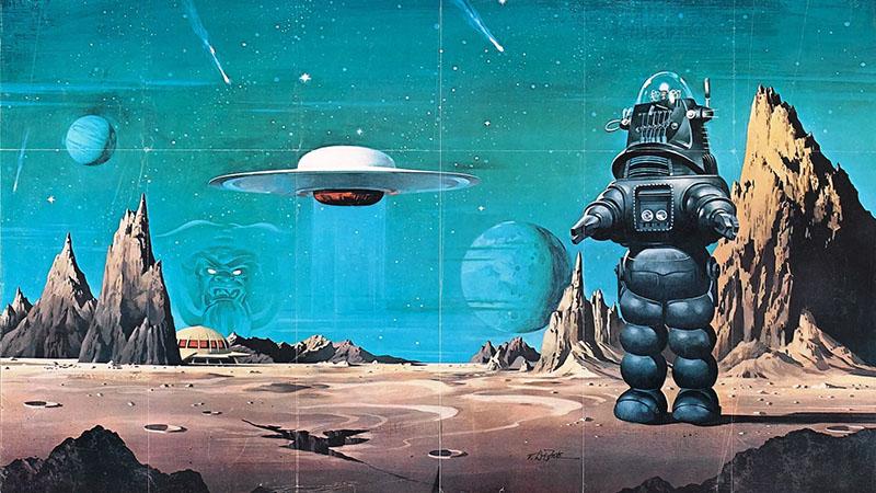 A Tiltott bolygó plakátja