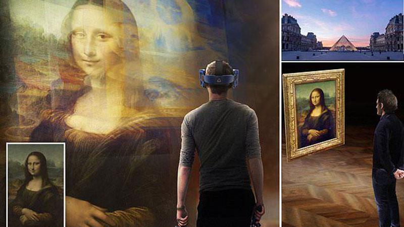Online is a Louvre a leglátogatottabb