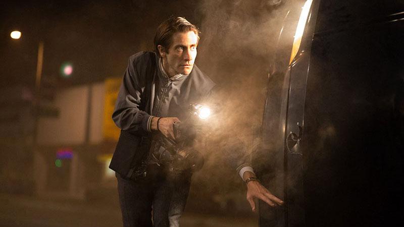 Jake Gyllenhall, mint Lou Bloom (Éjjeli féreg)