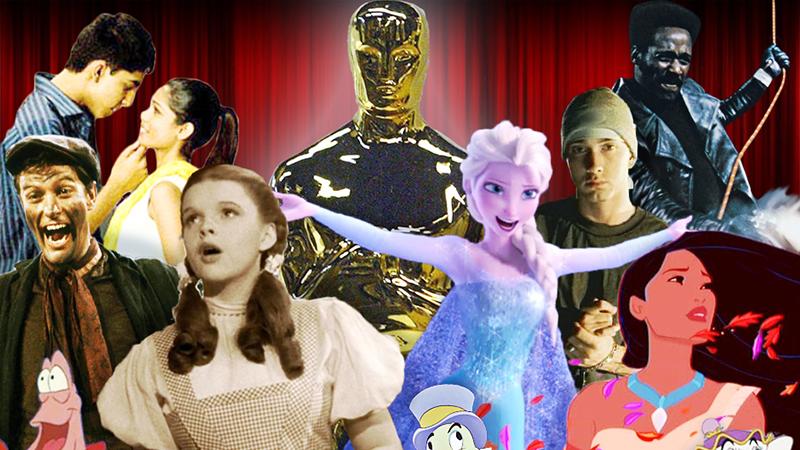 Oscar-díjas dalok Grammy-díjas előadóktól