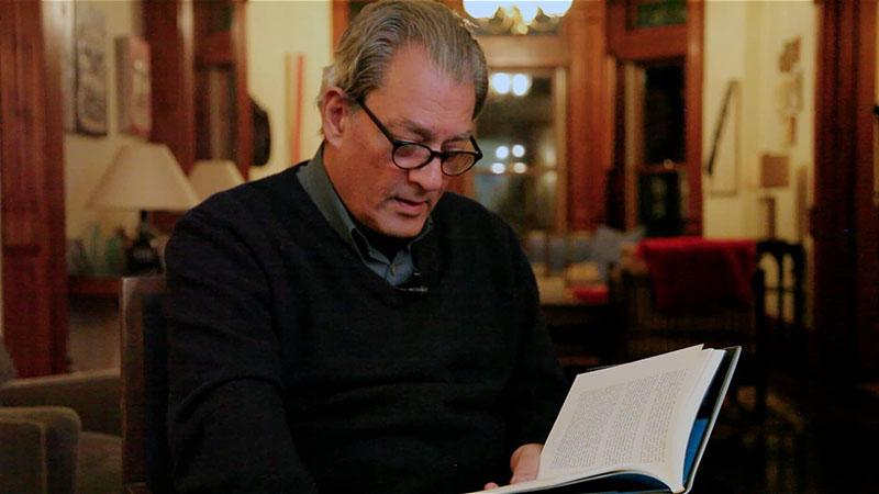 Auster egy felolvasáson