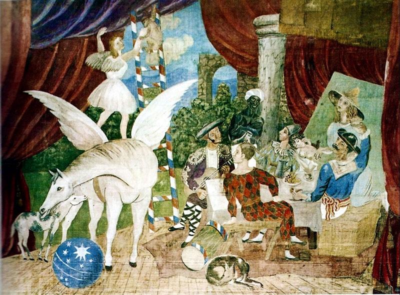 Picasso: A Parádé függönye