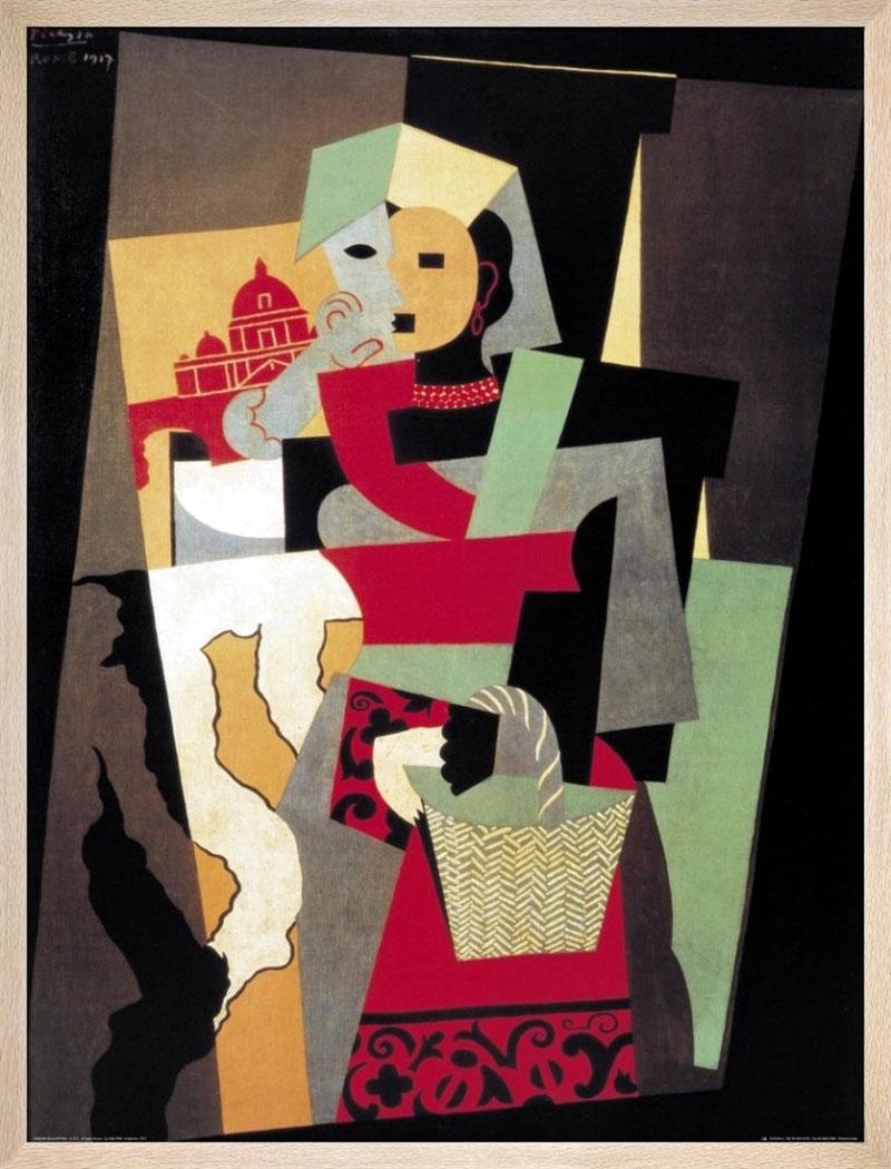 Picasso: Olasz nő II.