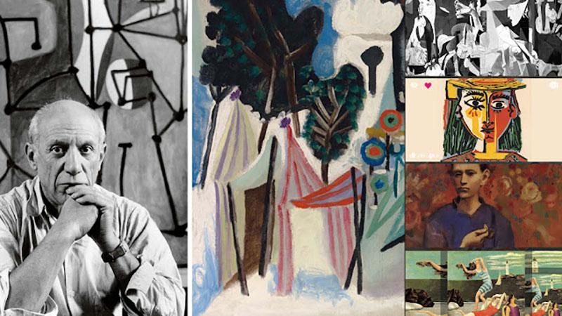 Pablo Picasso-t ma a XX. század egyik legnagyobb festőjeként tisztelik