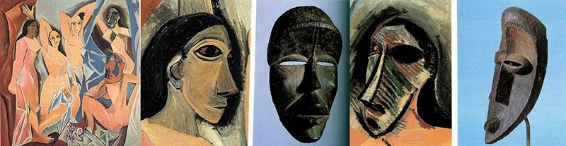 Az avignoni kisasszonyok és a maszkok