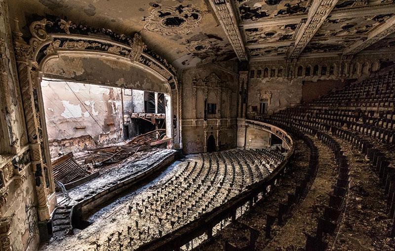 Egy elhagyatott detroiti koncertterem