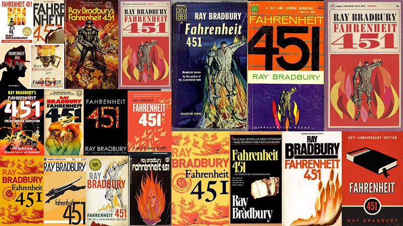 A Fahrenheit 451 számtalan kiadása