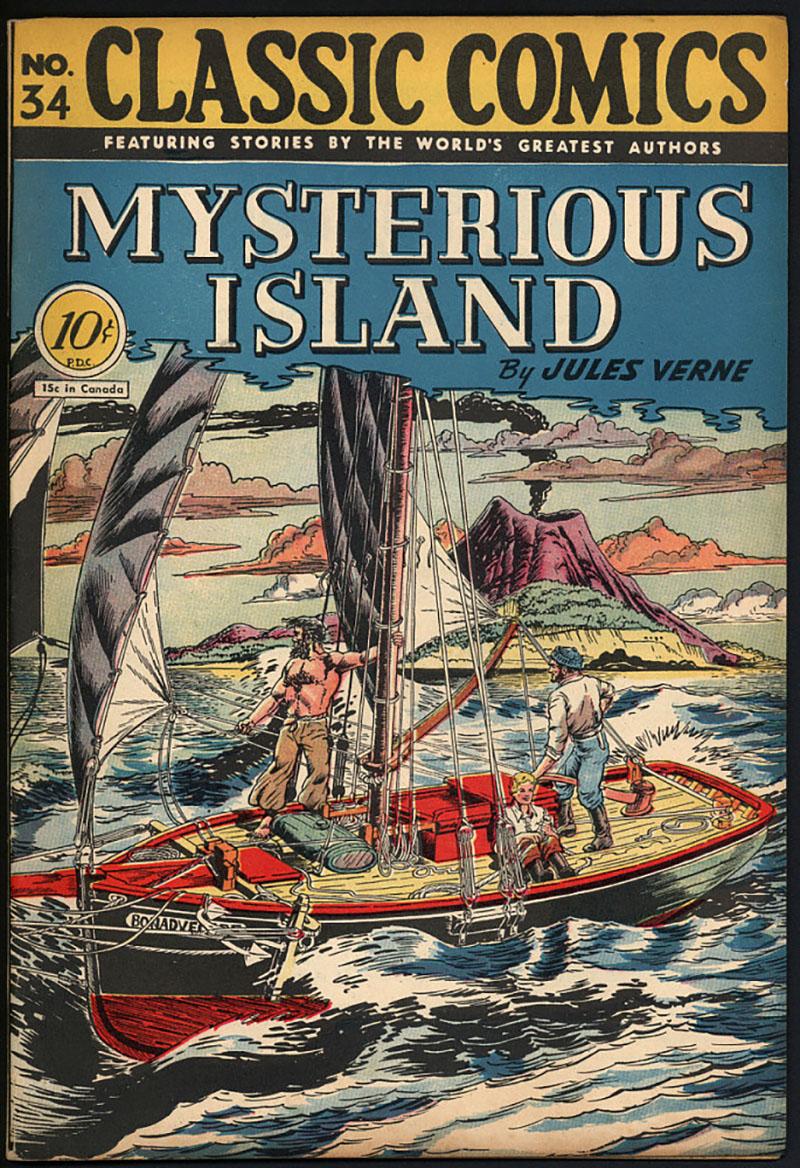 Jules Verne: A rejtelmes sziget