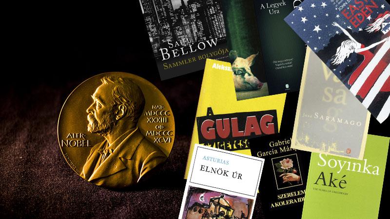 15 emlékezetes regény 15 irodalmi Nobel-díjas szerző tollából