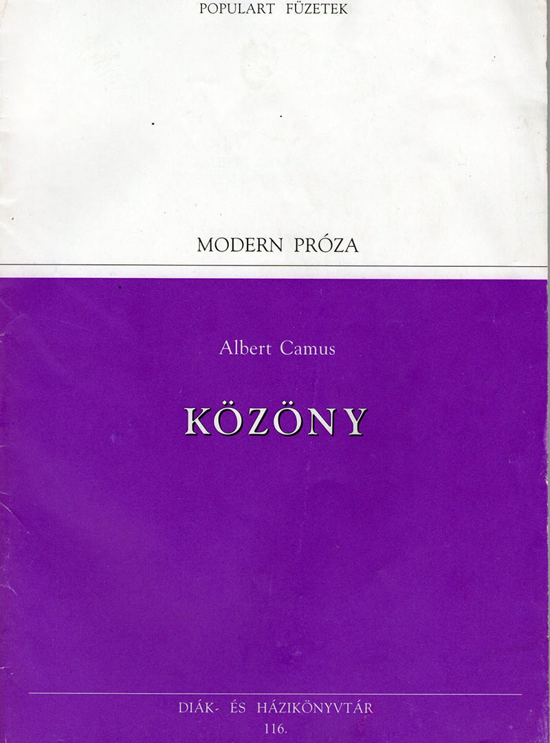 Albert Camus: Közöny