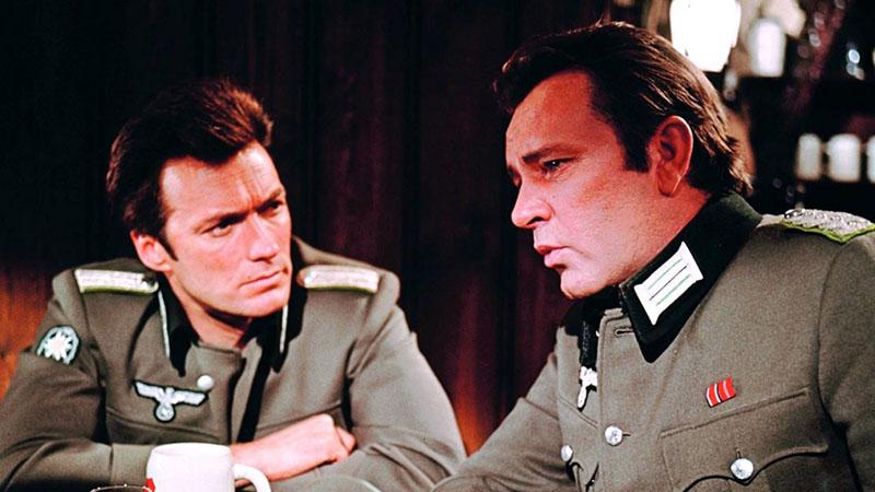 Richard Burton Clint Eastwooddal a Kémes a sasfészekben főszerepeiben