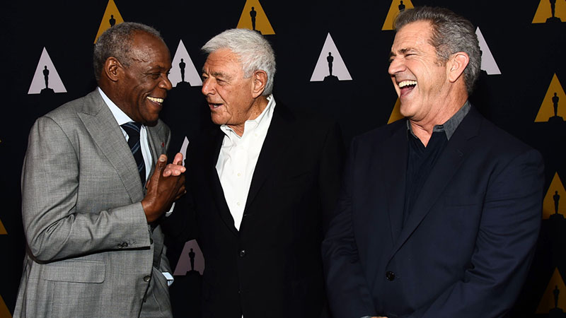 Danny Glover, Richard Donner és Mel Gibson