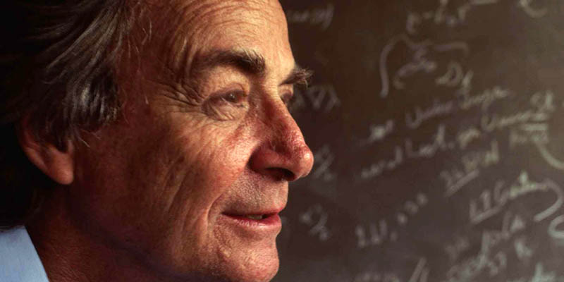 Feynman hozzáállása a mai tudóspalánták számára is példaértékű