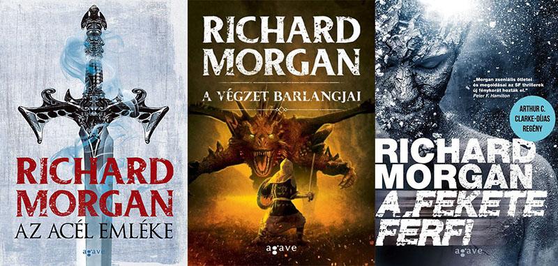 Morgan regényeit idehaza az Agave Könyvek gondozza