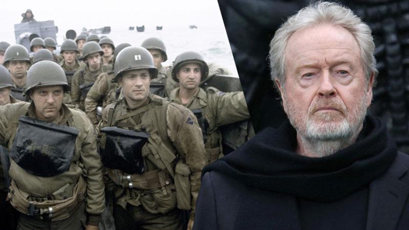 Ridley Scott tízrészesre tervezi világháborús sorozatát