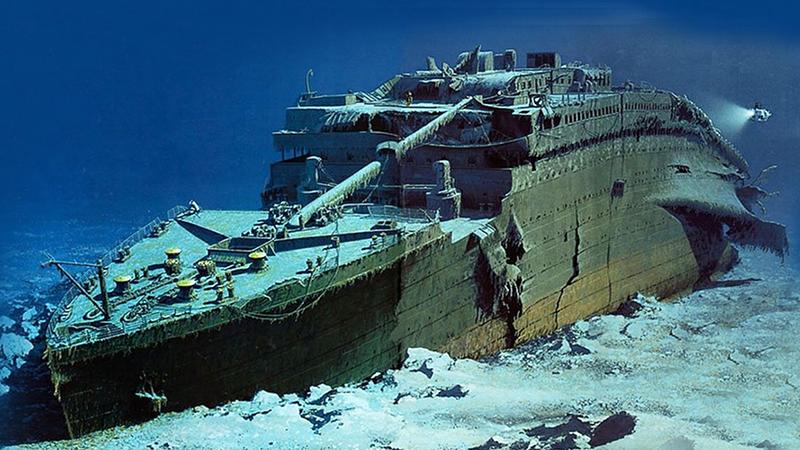 A Titanic roncsa közel 4 kilométer mélyen