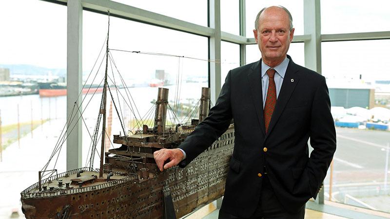 Ballard volt az egyik előmozdítója a roncs világörökséggé nyilvánításának