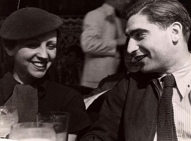 Nagy szerelmével, Gerda Taróval