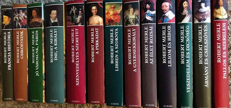 A saját maga által főművének tartott sorozat magyar kiadása