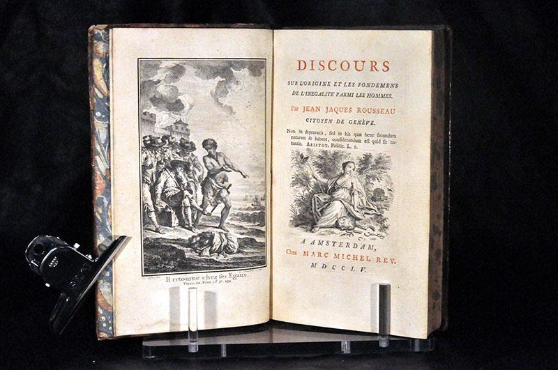 Rousseau: Értekezés az emberek közti egyenlőtlenség eredetéről és alapjairól