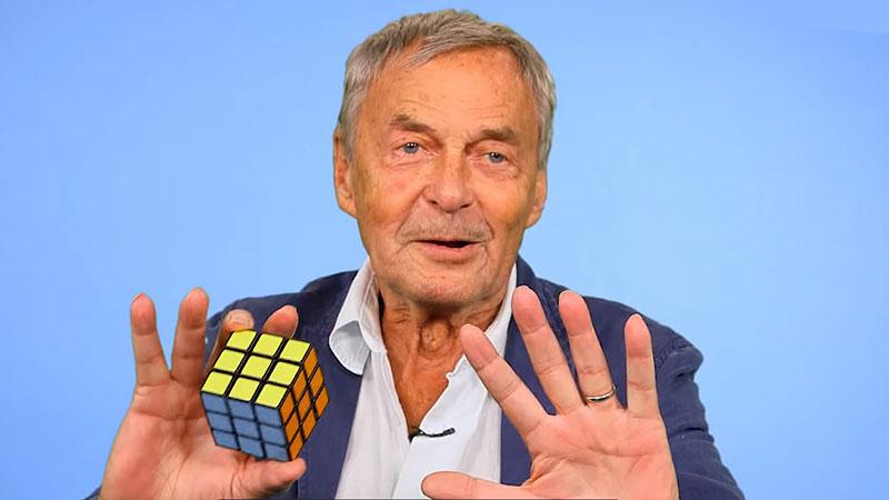Rubik Ernő több, mint negyven év után meséli el a Kocka történetét