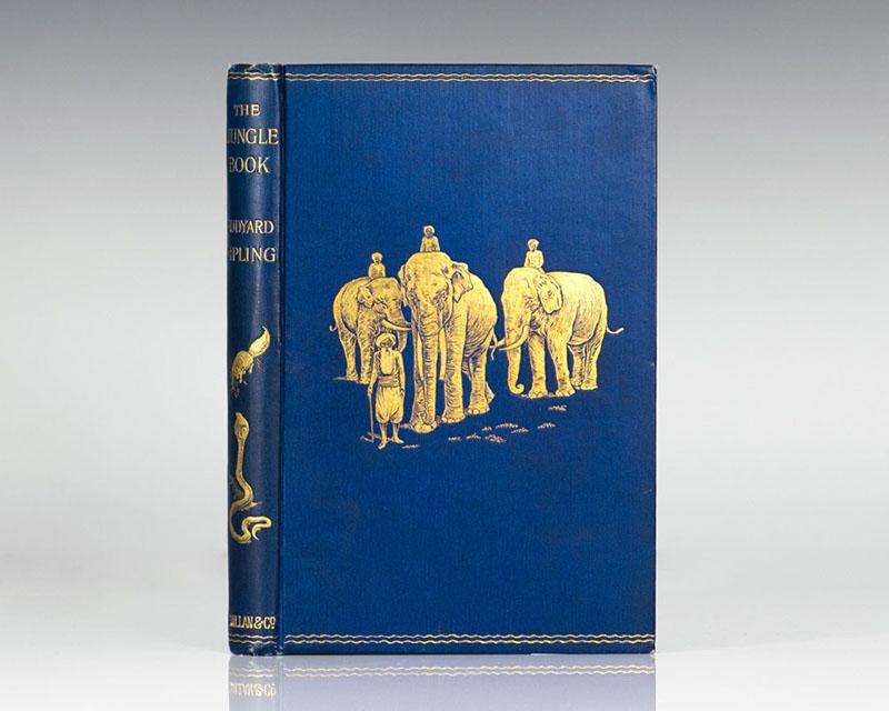 A legelső kiadás Kipling apjának illusztrációival