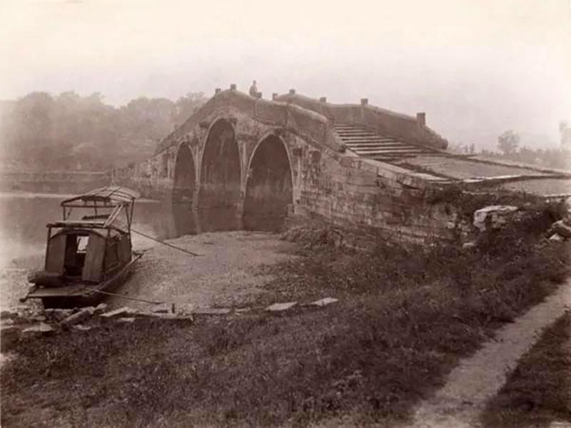 Híd Shanghajban 1900 körül
