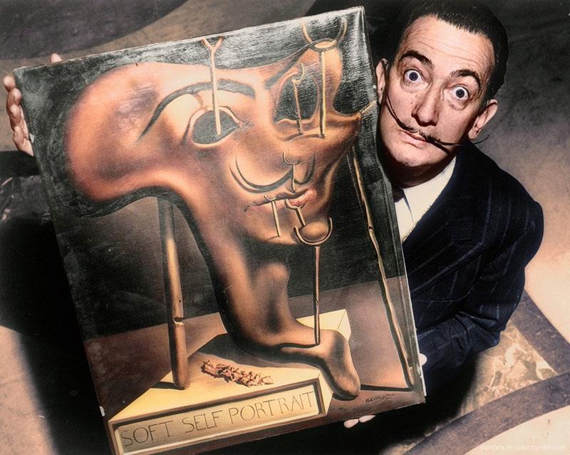 Dalí és az önarckép