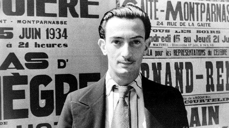 A fiatal Dalí