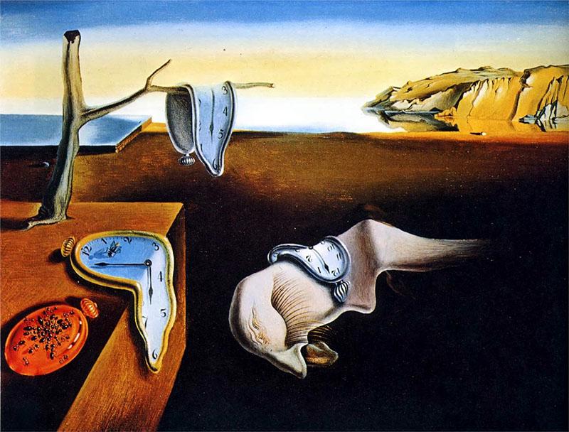 Dalí: Az elfolyó óra