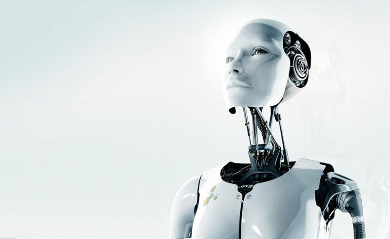 Az MI-k egyik klasszikus ábrázolása, emberi vonások géptestben